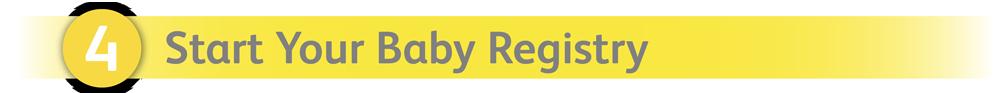 Start Your Baby Registry