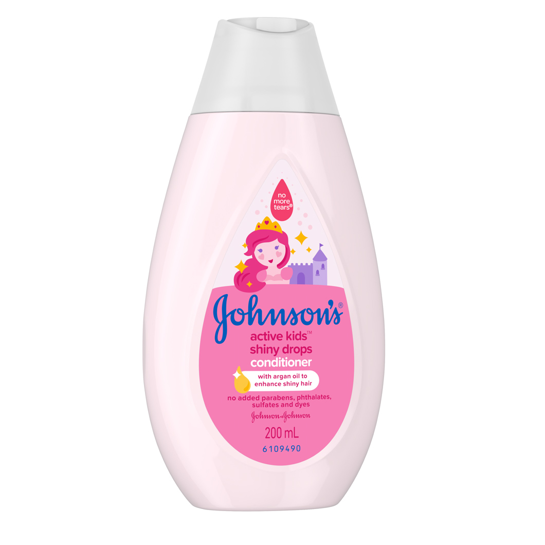 Johnson S 174 Active Kids Shiny Drops Conditioner Johnson S 174