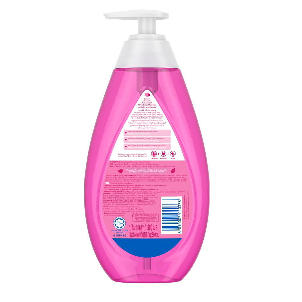 Johnson S 174 Active Kids Shiny Drops Shampoo Johnson S 174