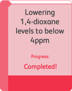 Removing 1,4-dioxane – tracking well