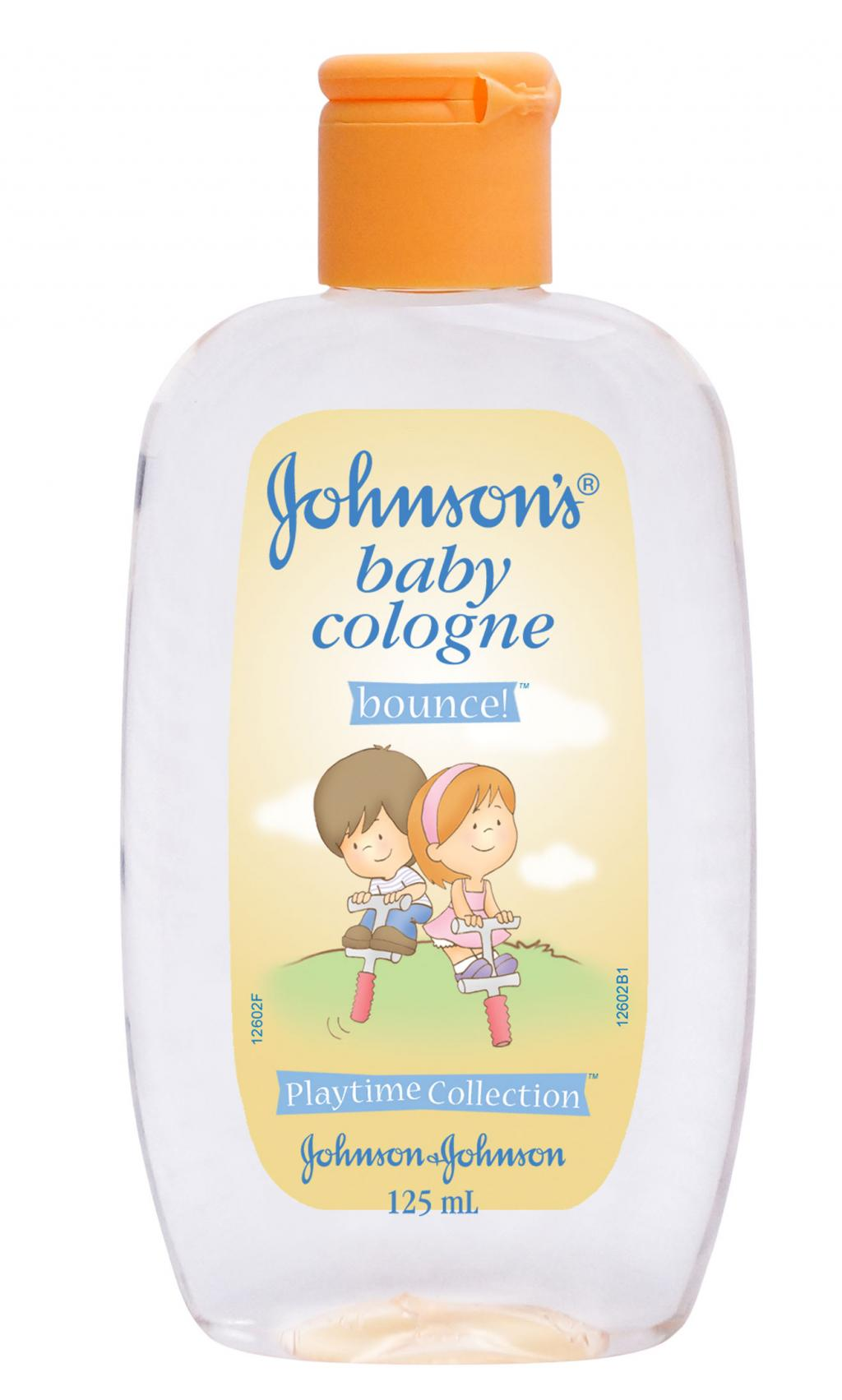 JOHNSON'S® baby cologne bounce