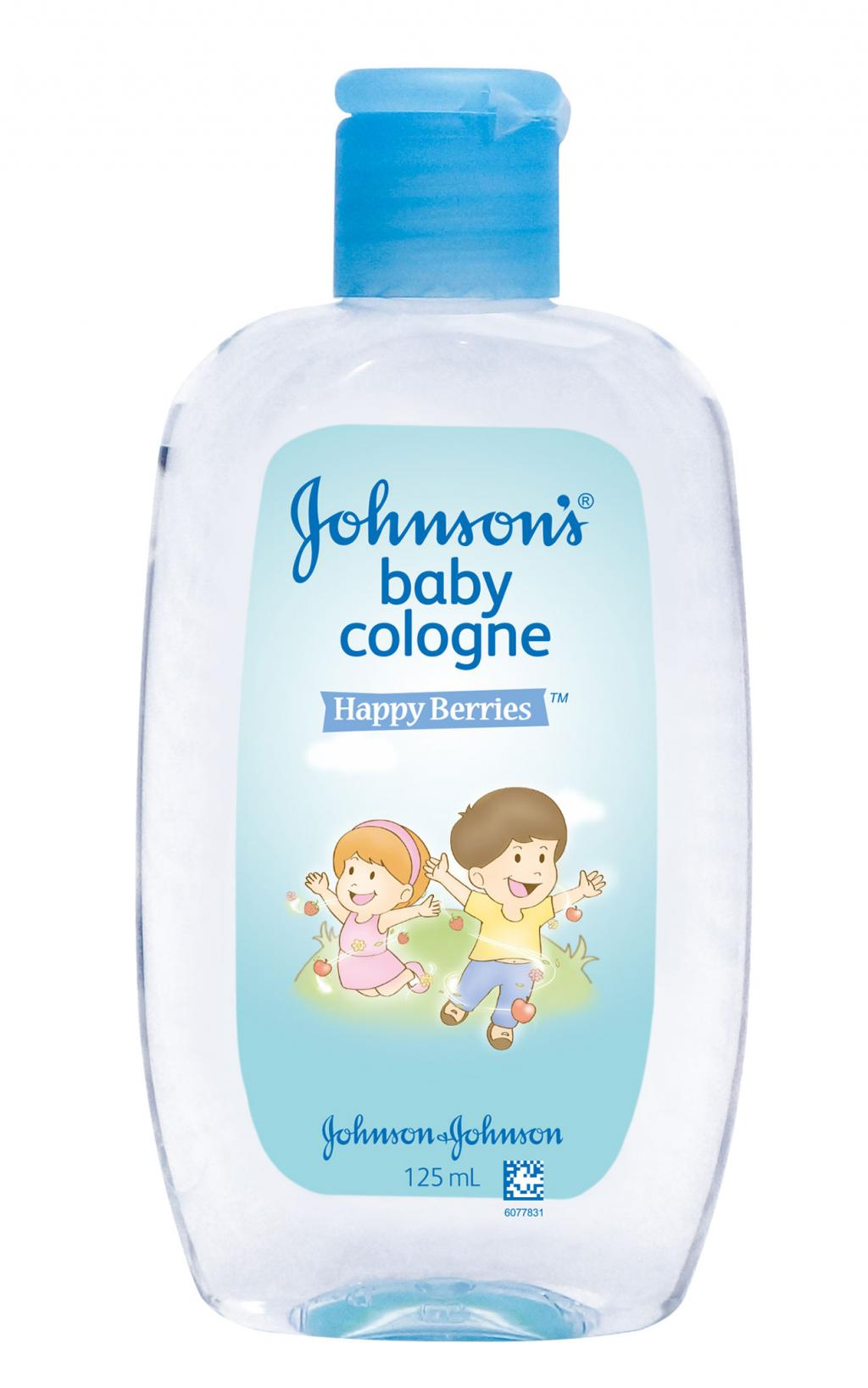 JOHNSON'S® baby cologne happy berries
