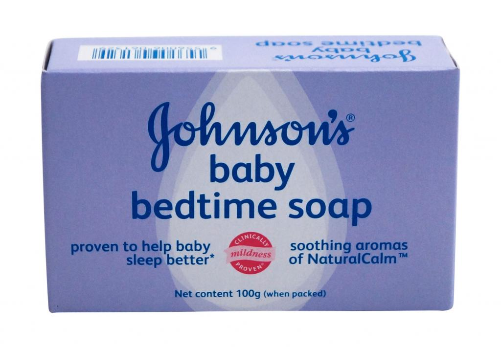 JOHNSON'S® baby bedtime soap