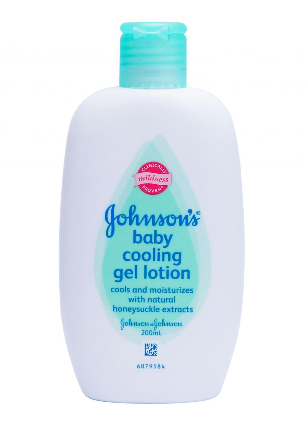 Johnson S 174 Baby Cooling Gel Lotion Johnson S 174 Baby