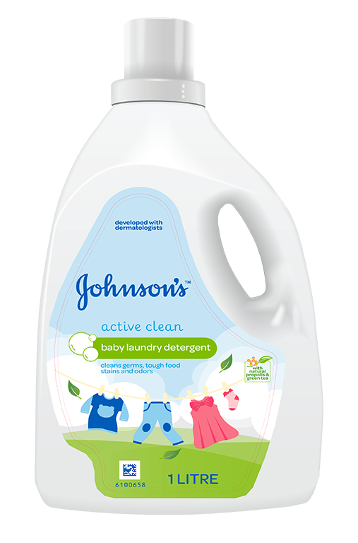 JOHNSON'S® Baby Active Clean Laundry Detergent | JOHNSON'S®