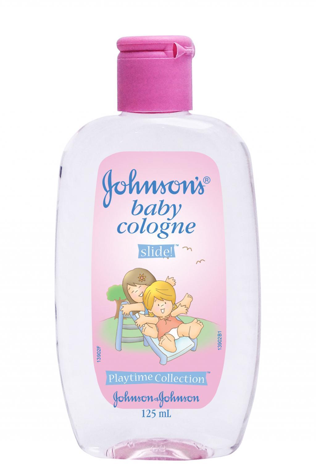 JOHNSON'S® baby cologne slide