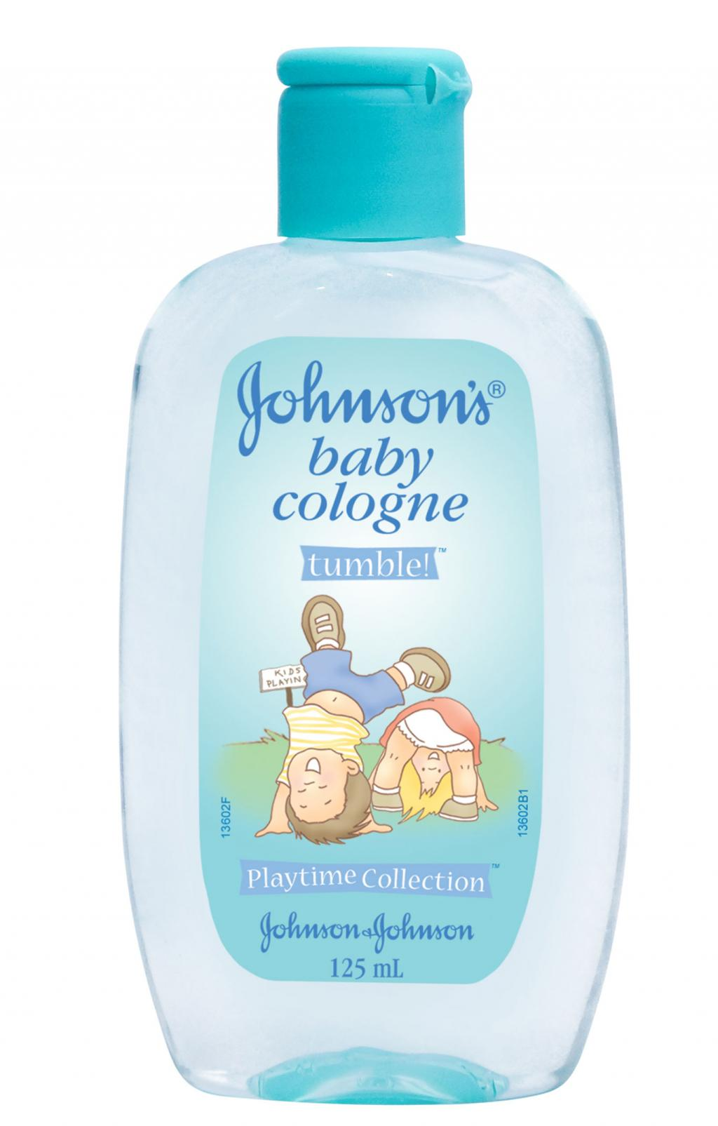 JOHNSON'S® baby cologne tumble