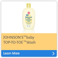 JOHNSON'S® baby TOP-TO-TOE® wash
